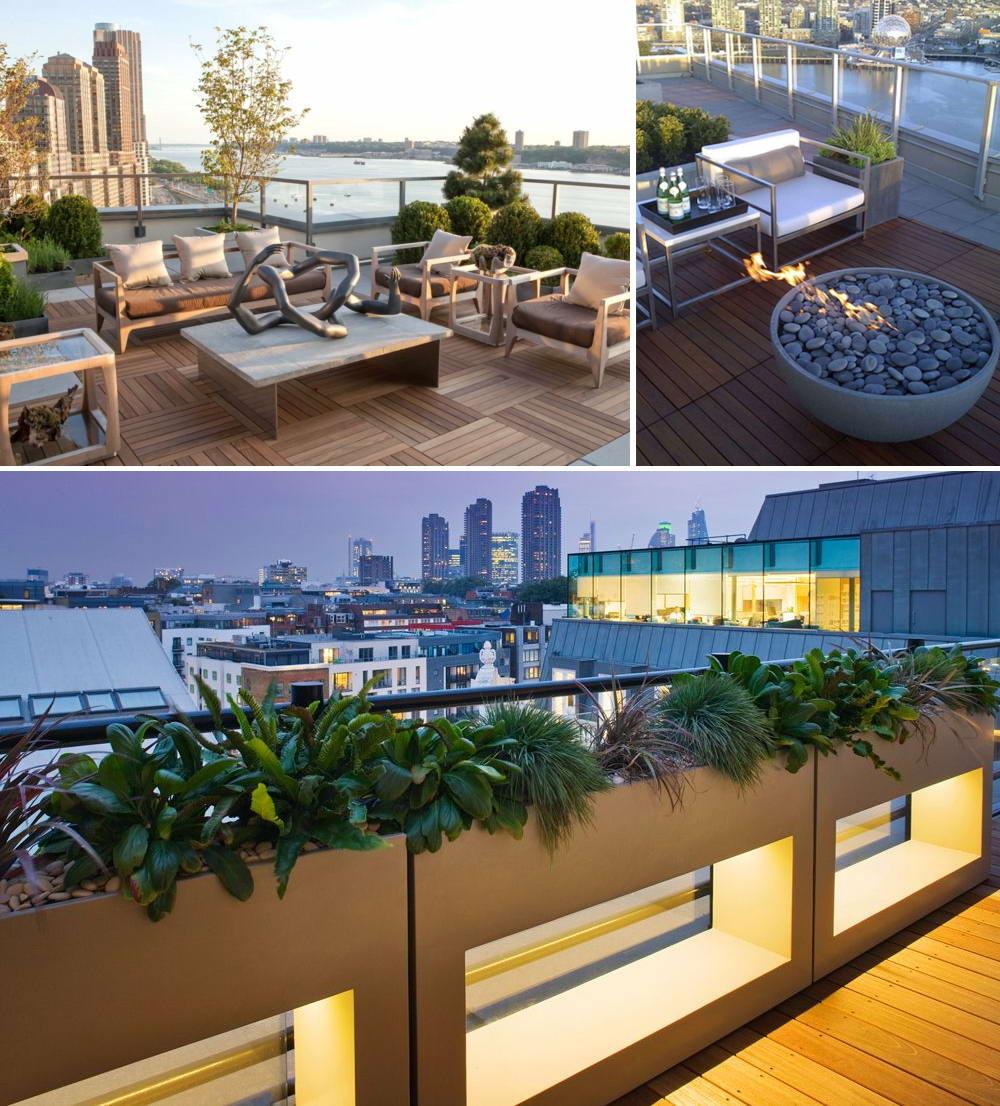 Modern terasz építés egyedi
