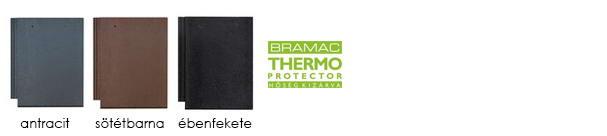 Tectura thermo protector tetőcserép színek