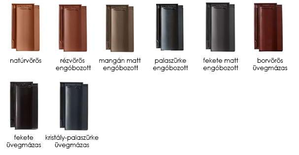 CREATON Cantus tetőcserép színek