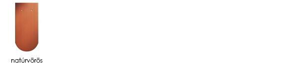 Creaton osztrák hódfarkú tetőcserép színek