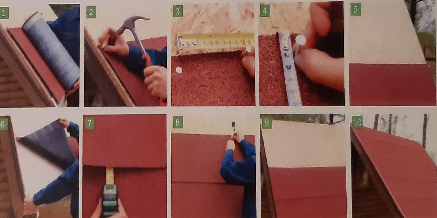 Öntapadós bitumenes tetőszigetelő lemez